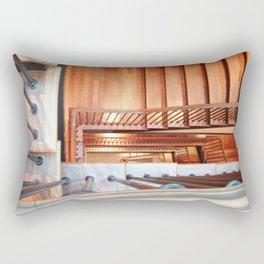 Spiral Stairs Rectangular Pillow
