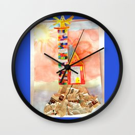 LiGHT LiGHTHOUSE Wall Clock