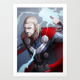 Thor 2 - Thor Print Art Print