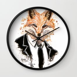 La Royale(Foxface) Wall Clock