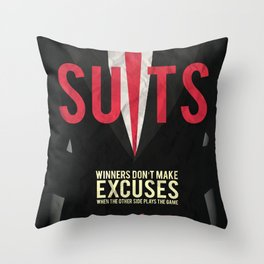 Suits - Harvey Specter Throw Pillow