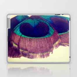 Peacocking Laptop & iPad Skin