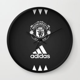 manchester united fc Wall Clock