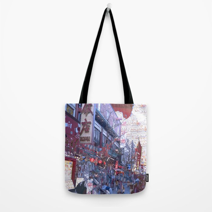 Yokohama Chinatown Tote Bag