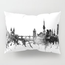 Prague (Praha) Czech Republic Skyline Pillow Sham