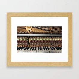 Piano inside Framed Art Print