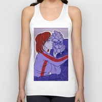 garrus Tank Tops featuring Calibrating! by its-liss