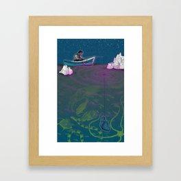 Briny Deep Framed Art Print