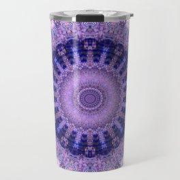 Deluxe lavender indulgence mandala Travel Mug