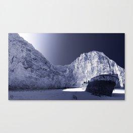Navagio beach Canvas Print