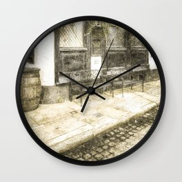 Pub Resting Place Vintage Wall Clock