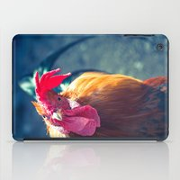 cock iPad Cases featuring Cock Peek by Waltteri Reunamo