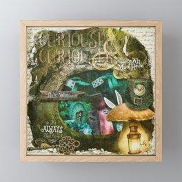 Down the Rabbit Hole Framed Mini Art Print