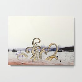 Spring Sea Metal Print