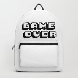 Game Over Pixel Type Backpack