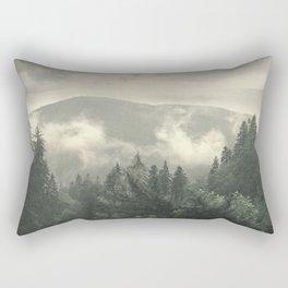 Carpathian Mountains - Transylvanian Alps Rectangular Pillow