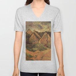Paul Gauguin - Osny, Stormy Weather (1883) Unisex V-Neck