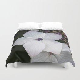 Purple and Blue Hydrangea Duvet Cover