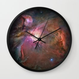 Orion Nebula M42, NGC 19 (High Quality) Wall Clock