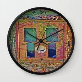 Retro 70´s Bubble Gum Box Stop Pershing  Wall Clock