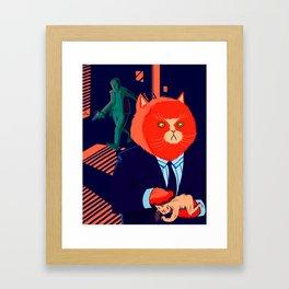 Mr. Kitty  Framed Art Print