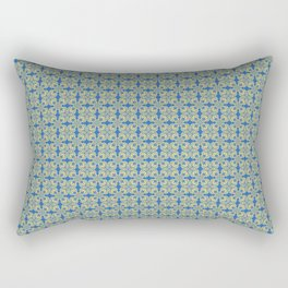 Portuguese pattern yellow Rectangular Pillow