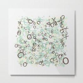 xoxoxo Metal Print