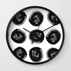 Black Holes Wall Clock