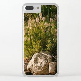 Nature's Fashion Week III Clear iPhone Case