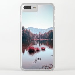 Winter Lake Clear iPhone Case