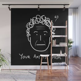 Your Art Is Trash - Gareth Jones (RISD) Wall Mural