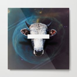 Space Cowboy Metal Print