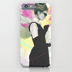 Breakfast at Tiffany's Fashion Illustration iPhone 6s Slim Case