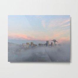 Foggy Sunrise 2 Metal Print