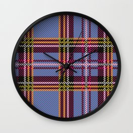 blue kilt Wall Clock