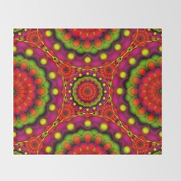 Psychedelic Visions G147 Throw Blanket