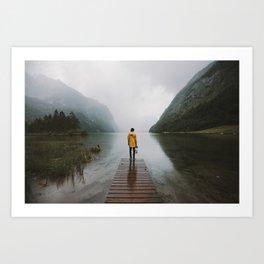 Mountain Lake Vibes - Landscape Photography Art Print