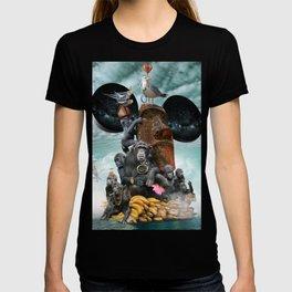 Adrift (Or, Barking Up the Rung Tree) T-shirt