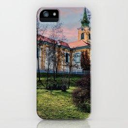 Hungary - Szakmar - Church iPhone Case