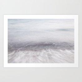 Movement, SeaScape, east cost of Mallorca Art Print