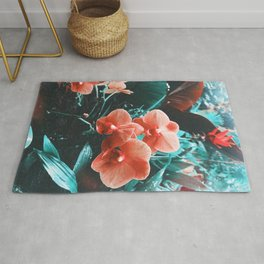 Tropic Orchid Love Rug