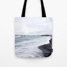 black beaches Tote Bag