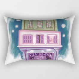 Cute colorful shop Rectangular Pillow