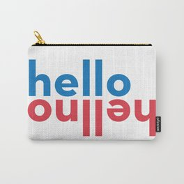 Hello/Hellno Carry-All Pouch
