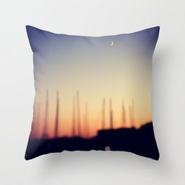 MORNING ABSTRACT Throw Pillow