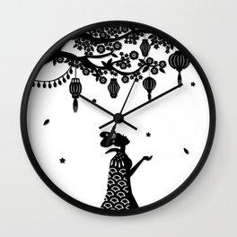 Ye Xian - Spring Wall Clock