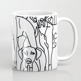 danes, danes and more danes Coffee Mug