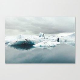 Jökulsárlón, Iceland Canvas Print