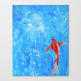 The Little Fish Canvas Print