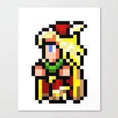 Final Fantasy II - Edward Canvas Print